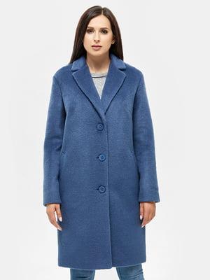 Пальто синее   4599087
