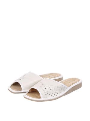 Тапочки белые | 4599449