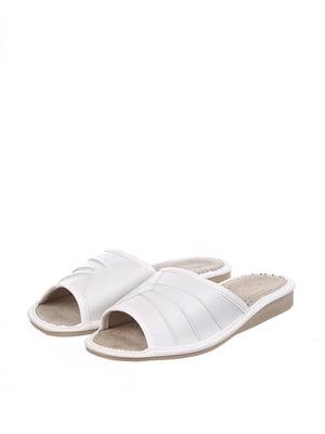 Тапочки білі | 4599475