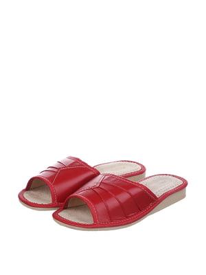 Тапочки красные | 4599477