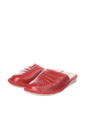 Тапочки красные | 4599490