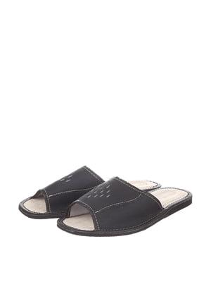 Тапочки черные | 4599507