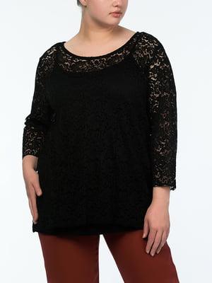 Блуза черная | 4598516