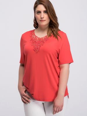 Блуза розовая | 4598732