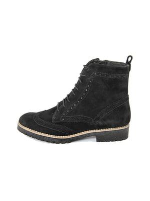 Ботинки черные | 4600038