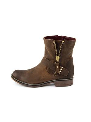 Ботинки коричневые | 4600041