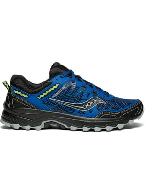 Кроссовки черно-синие Excursion Tr12 | 4599710