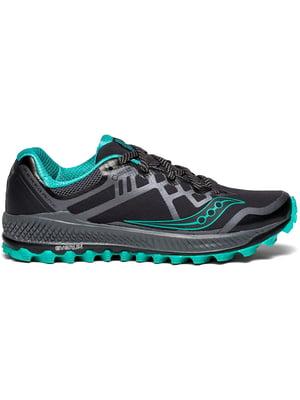 Кросівки чорно-блакитні PEREGRINE 8 GTX 10454-1s | 4599724