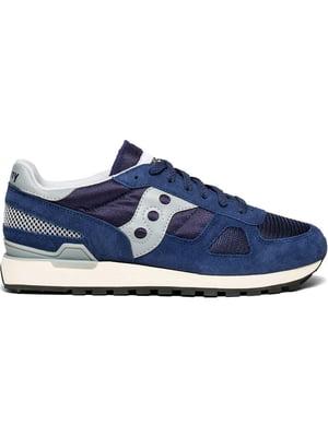 Кроссовки сине-белые Shadow Original Vintage | 4599775