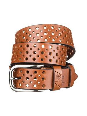Ремень коричневый - Grande Pelle - 4594550
