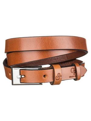 Ремень коричневый - Grande Pelle - 4594571