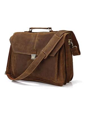 Портфель коричневий | 4594630