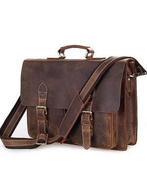 Портфель коричневый | 4594805
