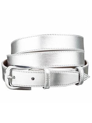 Ремінь сріблястий | 4594900