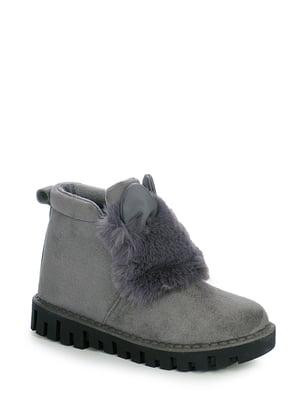 Ботинки серые | 4593306