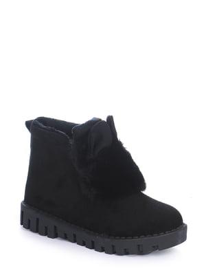 Ботинки черные | 4593307