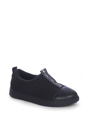 Слипоны черные | 4593309