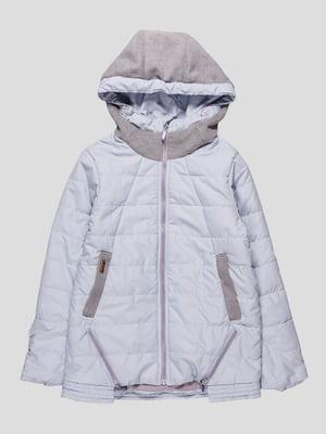 Куртка сіро-блакитна   4587896