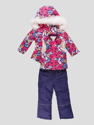 Комплект: куртка, жилет і півкомбінезон | 4587910