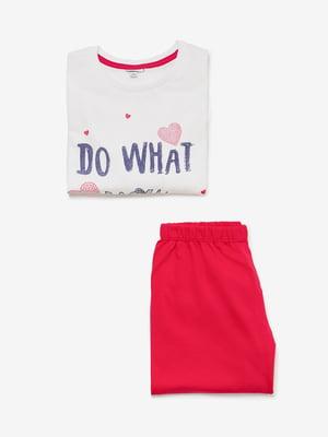Піжама: лонгслів і штани | 4582056