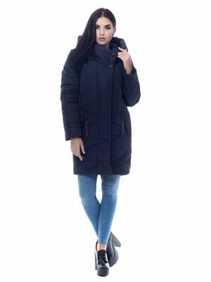 Пальто темно-синее | 4604102