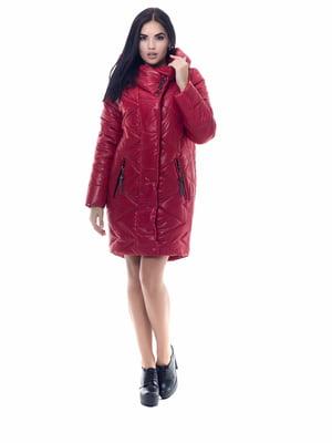Пальто красное | 4604119