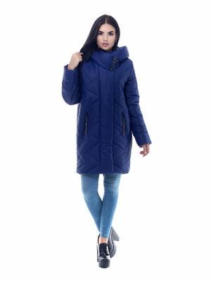 Пальто кобальтового цвета | 4604120