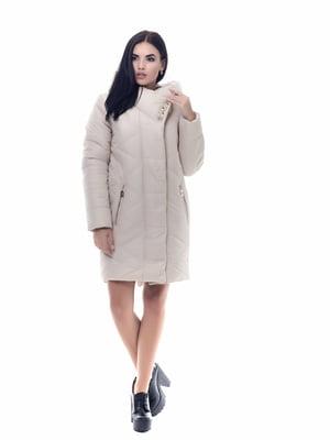 Пальто бежевое | 4604122