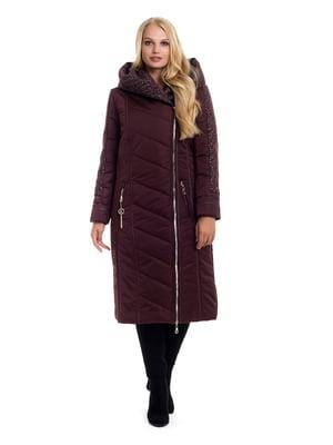 Пальто цвета марсала | 4604123