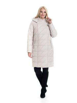 Пальто светло-бежевое | 4604136