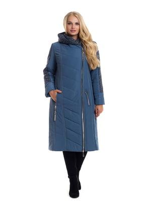 Пальто синее | 4604139