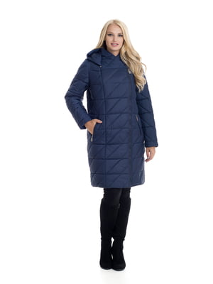 Пальто синее | 4604144