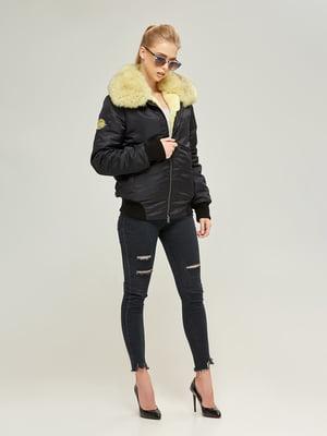 Куртка чорна | 4603621