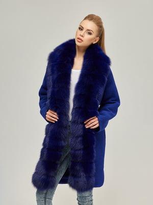 Пальто синє   4603627