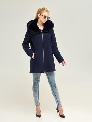 Пальто синее | 4603637