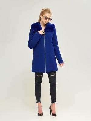 Пальто синее | 4603638