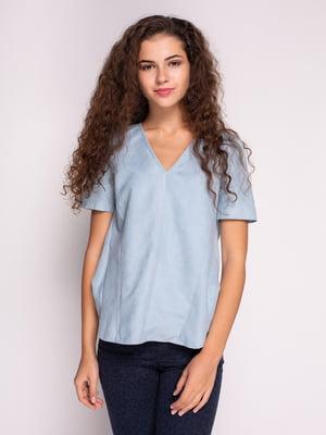 Блуза голубая | 4509169