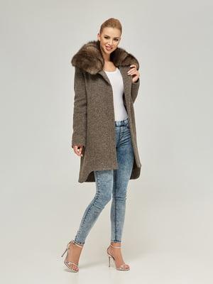 Пальто цвета капучино | 4603628
