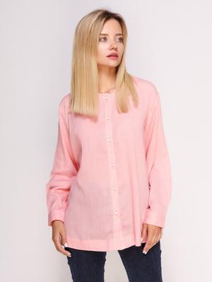 Рубашка розовая | 4495570