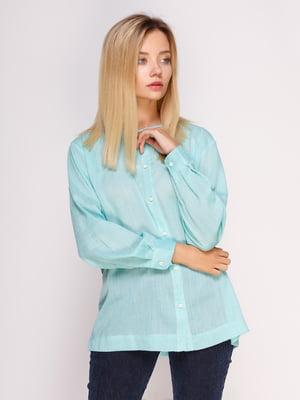 Рубашка зеленая | 4495562