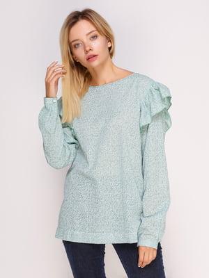 Блуза зелена | 4495571