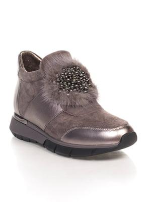 Ботинки серые | 4592818