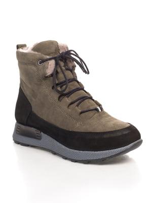 Ботинки зеленые | 4547193