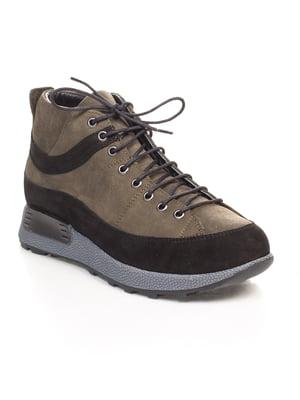Ботинки зеленые | 4547211