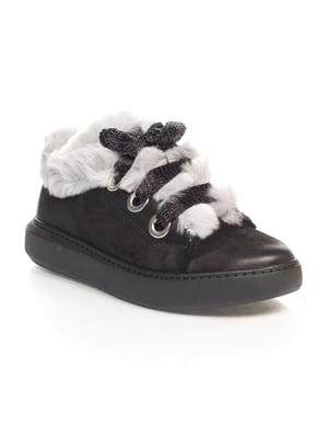 Ботинки черные | 4547189