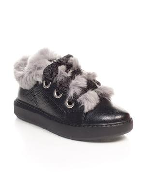Ботинки черные | 4547188