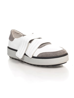 Кроссовки бело-серые   4580531