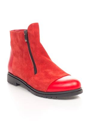 Ботинки красные   4596718