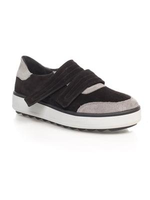 Кроссовки черно-серые   4580532