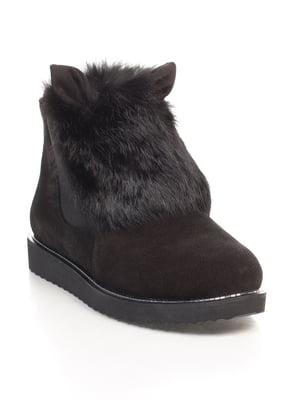 Ботинки черные   4596674
